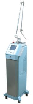 laser CO 2 służący do laserowego usuwania znamion